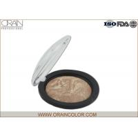 Wholesale Brown One Blush Powder Palette , Mixed Color Mineral Matte Blush For Fair Skin from china suppliers
