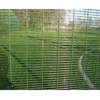 Wholesale Zinc Aluminium coating High Security Fencing 358 Security Mesh / galvanised finish or powder coated 358 heavy guage weld from china suppliers