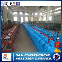 Quality Siemens Controll System Rolling Shutter Patti Machine,10 Rows Arch Sheet Roll Forming Machine for sale