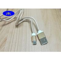 Quality Patent Reversible USB Cable , Nylon Braid Reversible Micro USB Cable for sale