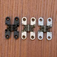 Wholesale Zinc Alloy Hidden Hinges Invisible Concealed Cross Door Hinge from china suppliers