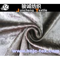 Wholesale Burnish Surface Ice Bloom Velvet Fabric/curtain/decoration/ upholstery /apparel from china suppliers