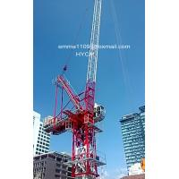 Wholesale D4522 Jib Luffing Crane Tower Inner Climbing Type 6tons 45m Booom Length from china suppliers