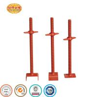 China Galvanized and painted 4 Way U Head Screw Jack/shoring screw jack for scaffolding on sale