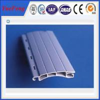 Wholesale European designed Aluminum extrusion profile slat for Roller/Rolling shutter doors from china suppliers