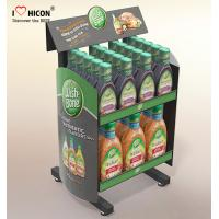 Wholesale Drive Sales Food Store Supply Metal Display Rack Tiered Crisp Sauce Display Stands from china suppliers