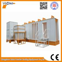 Wholesale Automatic Cylcone Painting Booth  With Seond Filter Recovery System from china suppliers