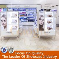 Wholesale Cosmetic product display stands,cosmetics display design showcase from china suppliers