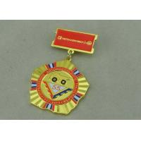 Wholesale Zinc Alloy Military Custom Awards Medals 3D Die Casting With Soft Enamel from china suppliers