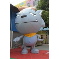 Wholesale Inflatable Advertising Products Grey Show Wolf  3m Height Fireproof from china suppliers