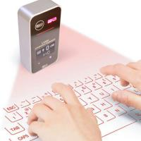 Wholesale Bluetooth Virtual Lazer Projection Keyboard for smart phones PC tablet loptop from china suppliers