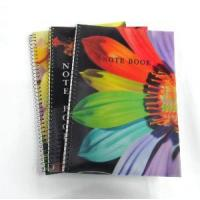 Buy cheap 3D Cover Spiral Notebook from wholesalers