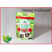 Wholesale Dog Food Plastic Stand Up Pouches Customized with Heat sealing from china suppliers