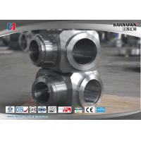 Quality Custom Stainless Steel Forging Chemical Engineering Welding Tee Joint Pipe for sale