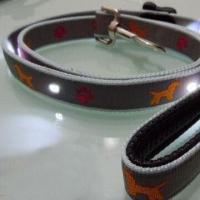 Wholesale LED Nylon Dog Leash/Adjustable Waist Belt and Leash, Customized Colors Accepted from china suppliers