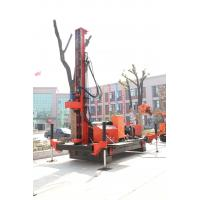 Wholesale Full Hydraulic Jet Grouting Drilling Rig Double Winch , DTH Drill Machine from china suppliers