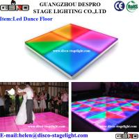 Wholesale Bar Disco RGB LED Dance Floor Lights Event Decoration DMX Stage Light from china suppliers