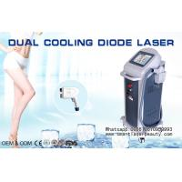 Wholesale Painless 808nm Diode Laser Hair Removal Machine / Verticall Hair Removal Laser Equipment from china suppliers