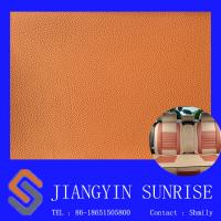 "Wholesale 54/55"" Width PVC Auto Upholstery Leather , Abrasion Resistance / Odorless from china suppliers"