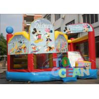 Wholesale Commercial Inflatable Bouncer Combo With Bounce House And Slide For Kids from china suppliers