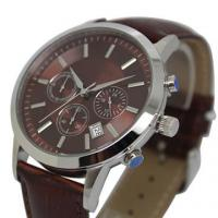 Wholesale Waterproof Stainless Steel Watches , Men Luxury Wrist Watch With IP Plating Finish from china suppliers