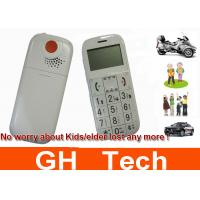 Wholesale Big Speaker Cell Phone GPS Tracker With SOS Button For Kids / Senior People from china suppliers