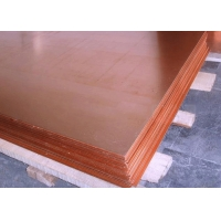 Buy cheap 2440mm Width Hot Rolled ASTM B152 Copper Sheet Plate from wholesalers