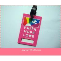 Wholesale soft PVC  Travel Luggage Tag from china suppliers