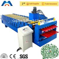 Wholesale Color Steel Plate Double Layer Roof Panel Roll Forming Machine 1200 / 1250mm Width from china suppliers