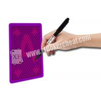 Wholesale Luminous Playing Cards Invisible Ink A Marker Pen For Making Marked Decks from china suppliers