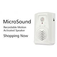 Quality COMER advertising amplifier PIR motion detector voice prompt doorbell talking products for sale