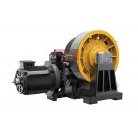 Wholesale 45kw Geared Elevator Traction Machine For Cargo Lifts 0.5~2 M/S from china suppliers