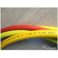 Quality Yellow Smooth Push-Lock Rubber Hose 20bar for sale
