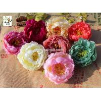 Wholesale UVG cheap faux floral arrangements exotic silk penoy artificial wedding flowers for indian wedding decorations FPN117 from china suppliers