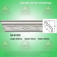 Wholesale Fashion carved pu crown moldings cornice molding from china suppliers
