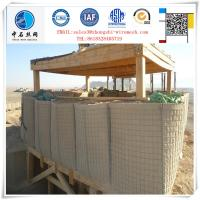 hot sale factory price Welded Rust proof Gabion for military gabion wall