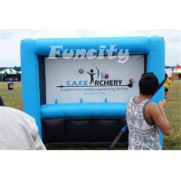 Wholesale Funny Shooting Inflatable Sport Games Safe Archery Targets Game 3L*1.6Hm Size from china suppliers