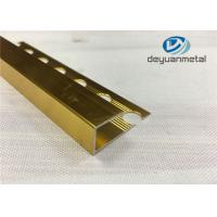 Wholesale Ceramic Tiles Decorative Aluminium Trim With Polishing Surface Treatment from china suppliers