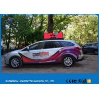 Wholesale 12V 2727SMD P5 full color Taxi LED Display 2 years warranty for advertising sign from china suppliers