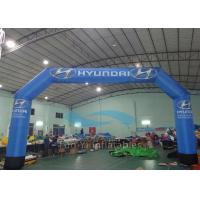 Wholesale Durable Blue PVC Inflatable Finish Line Race Arch CE / EN71 Certificated from china suppliers