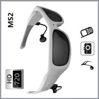 Wholesale Portable CMOS Digital Smart Video Glasses For Answering Call / Enjoy Music from china suppliers