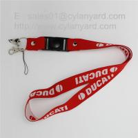 Wholesale Personalized woven lanyard with swivel release buckle wholesale from china suppliers