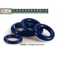 Wholesale O shaped diving lead weights die casting pvc coated dive lead block for scuba diving from china suppliers