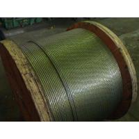 Wholesale High Carbon Greased Zinc Coated Steel Wire Strand For ACSR Conductor from china suppliers