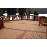 Buy cheap Hollow anti-UV outdoor wpc decking from wholesalers