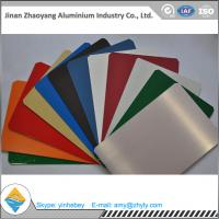 Wholesale Building Aluminium Alloy Sheet RAL Color Coated Aluminium Sheet 1000mm Width from china suppliers