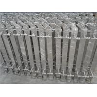 Wholesale Stainless steel glass/rod balustrade posts satin /mirror finish from china suppliers