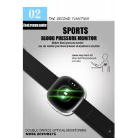 Latest Bluetooth Activity Tracker Blood-pressure Heart-rate Black Color Smart Wristband 0.95'' OLED Display