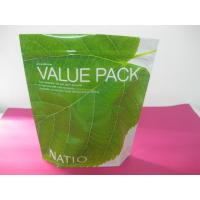 Wholesale Recycled Laminated Green Stand Up Pouch Bag Ziplock for Facial Cream from china suppliers