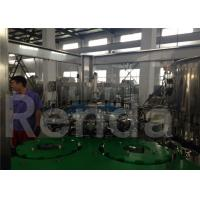 Wholesale Water Packaging Liquid Filler Equipment , Stainless Steel Filling And Capping Machines from china suppliers